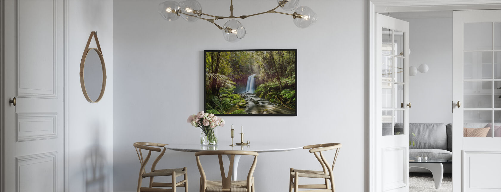 Hopetoun Falls - Inramad tavla - Kök