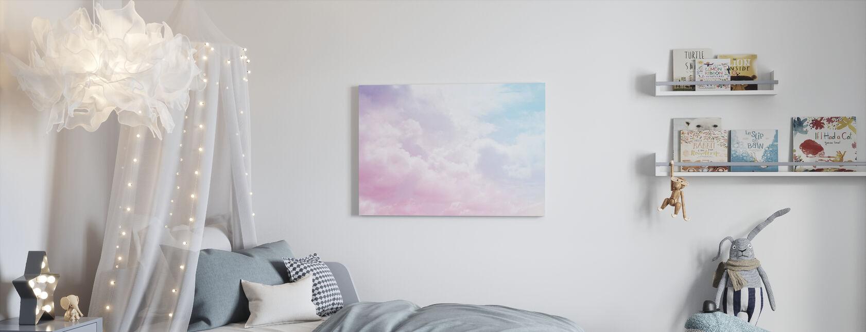Bewolkte hemel - Canvas print - Kinderkamer