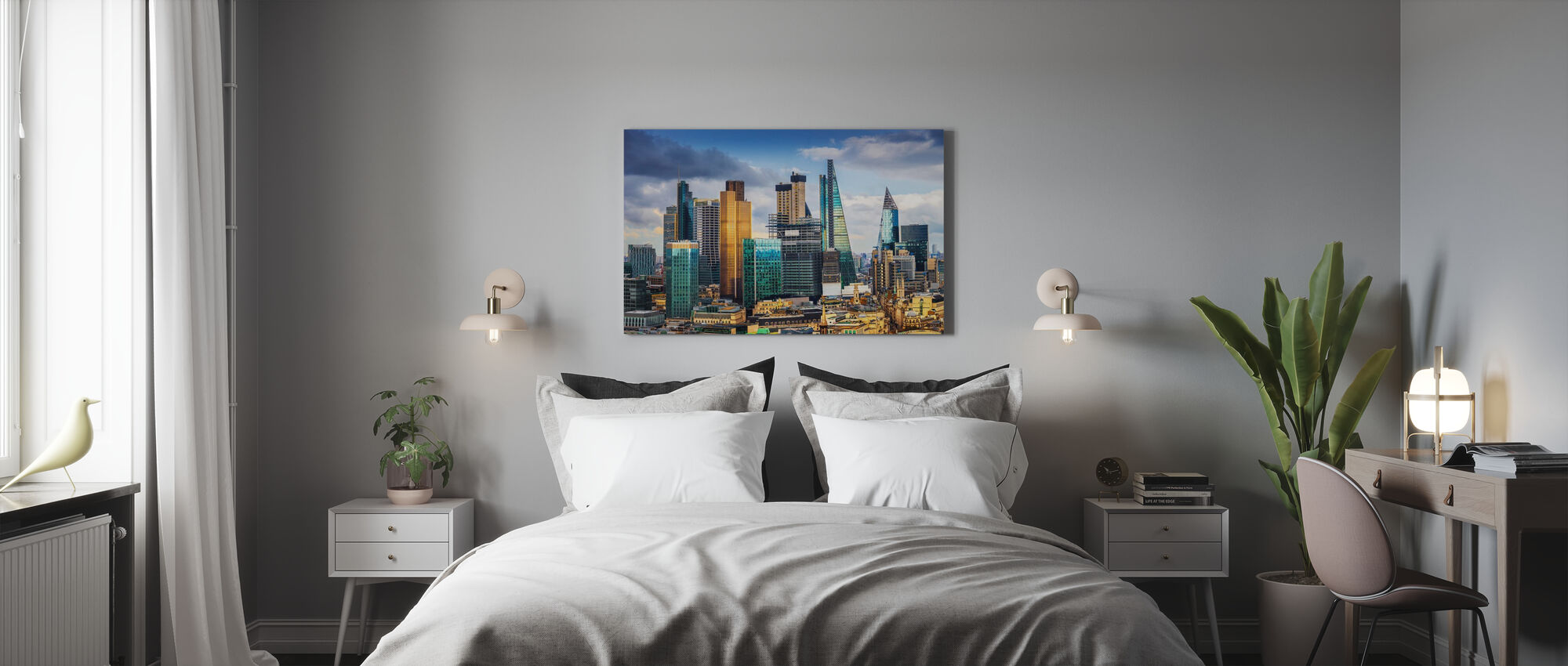 London Skyline - Canvas print - Bedroom