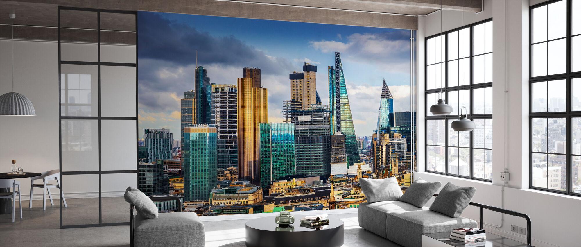 London Skyline - Tapete - Büro
