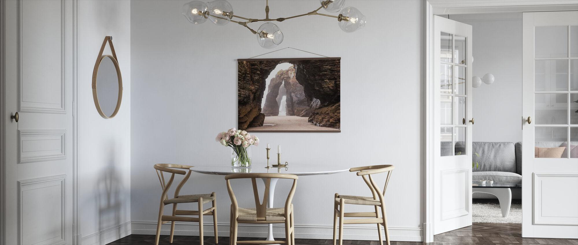 Naturlig steinbue Spania - Plakat - Kjøkken
