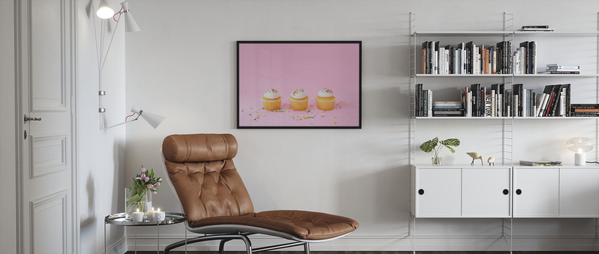 Frosted Cupcakes - Poster - Living Room