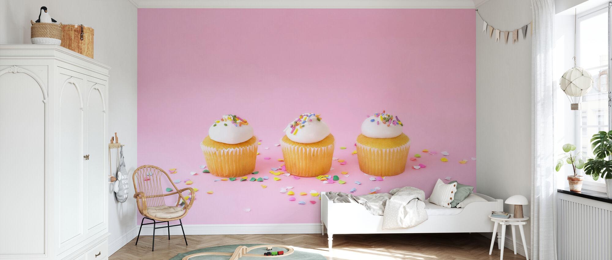 Matt Cupcakes - Tapete - Kinderzimmer