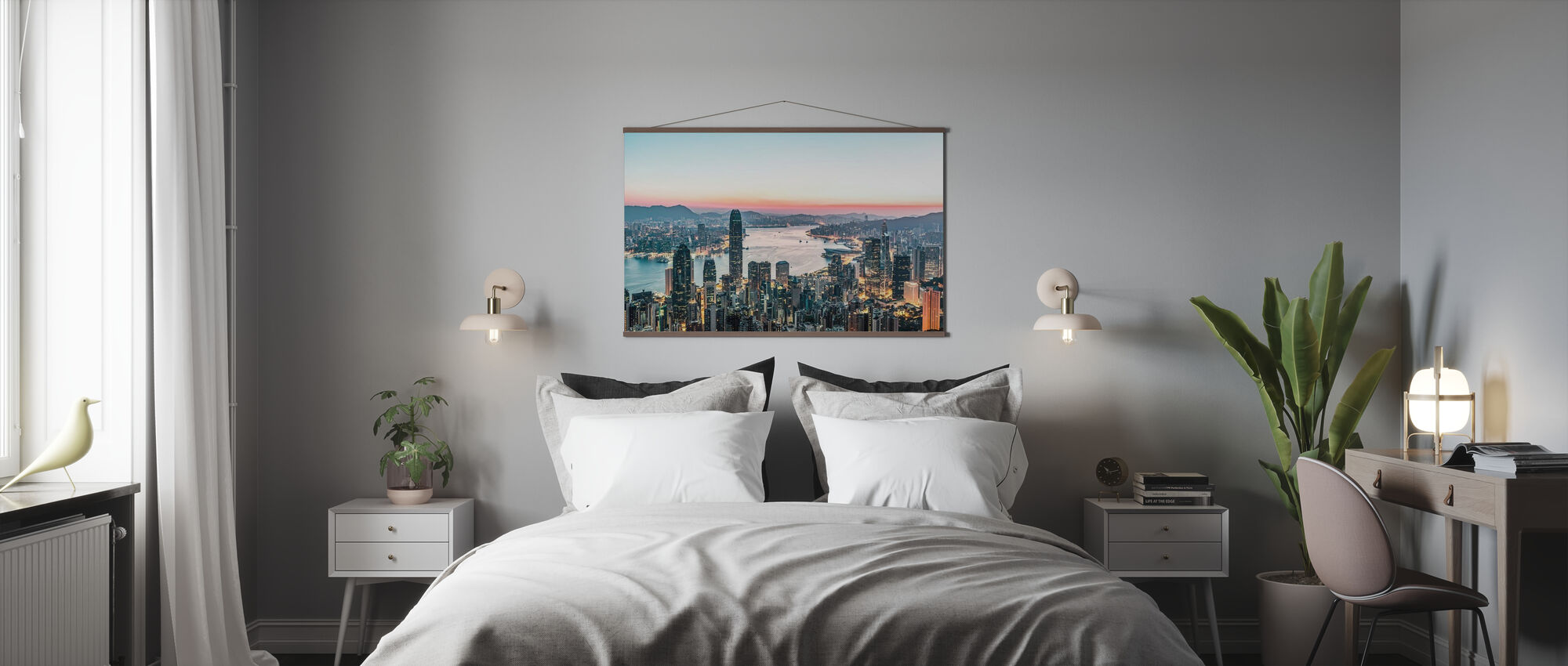 Hong Kong Sunrise - Plakat - Soverom