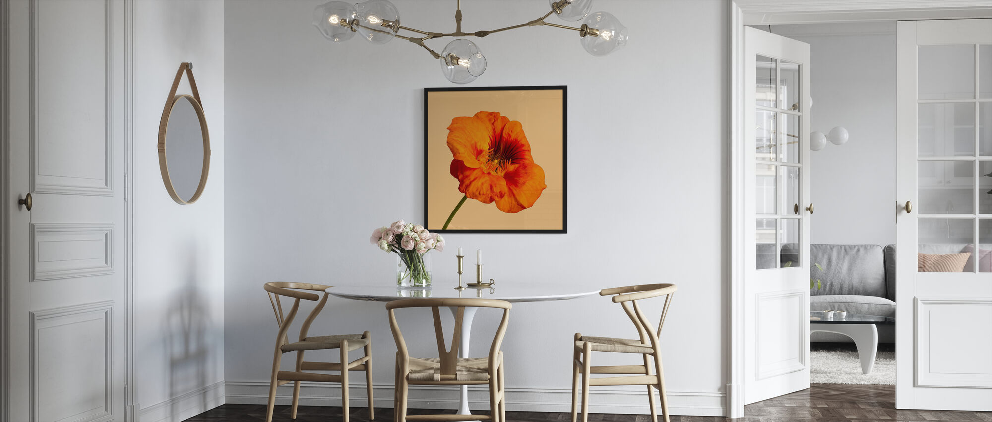Blooming Hibiscus - Poster - Kitchen