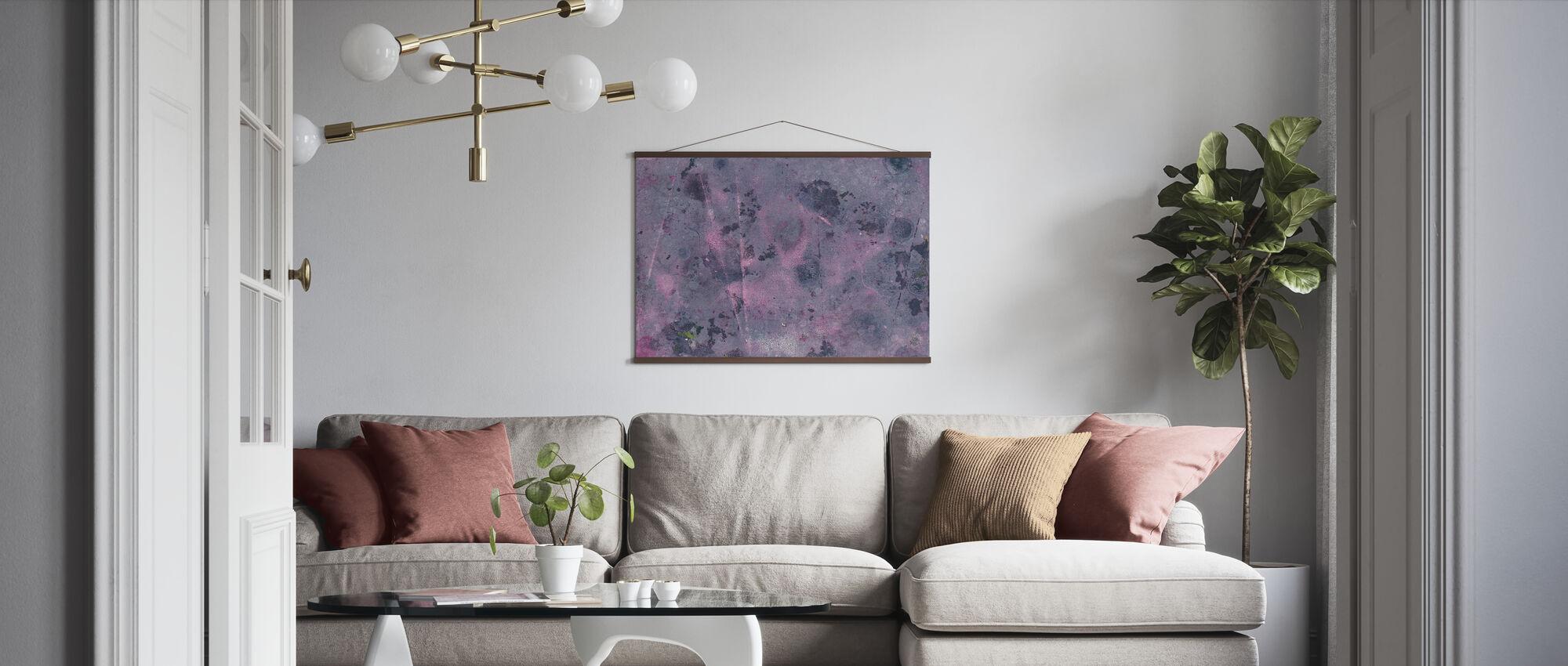 Torn Graffiti Wall - Poster - Living Room
