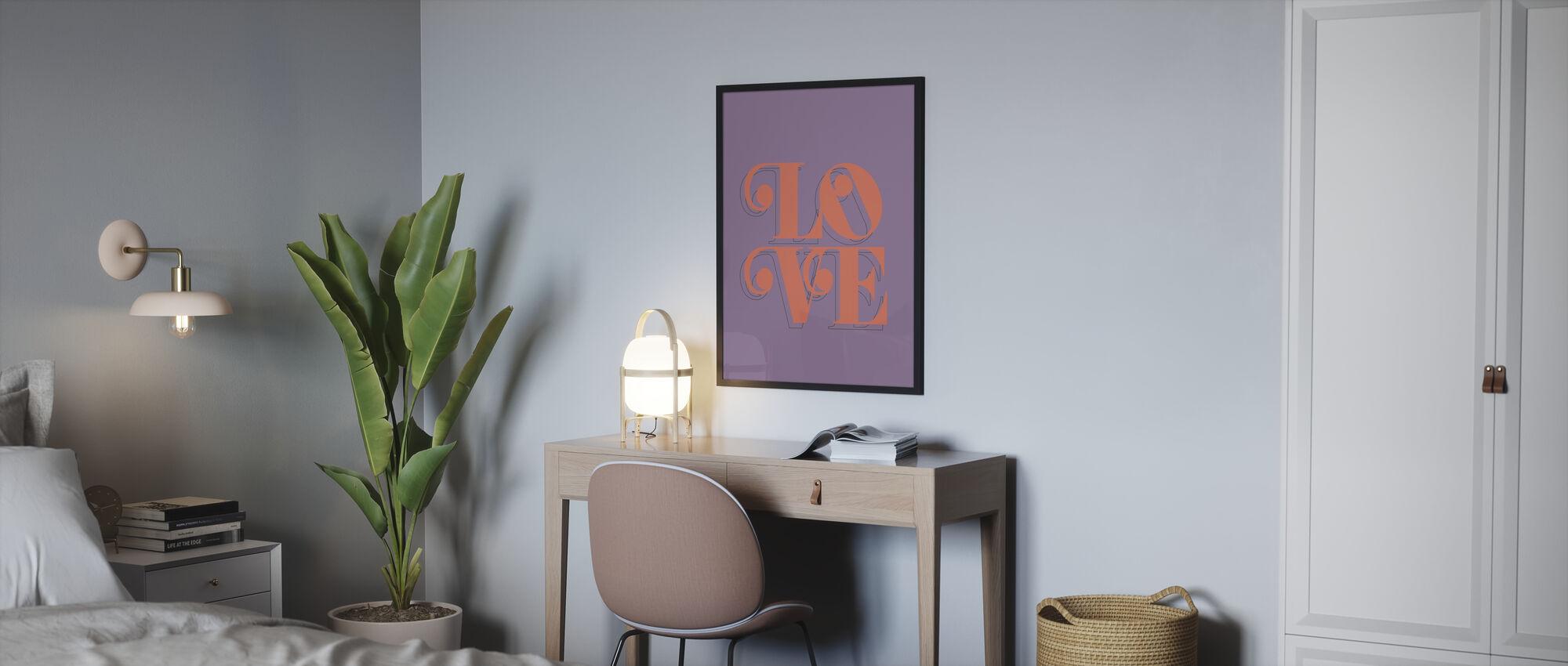 Love Fruit - Poster - Bedroom