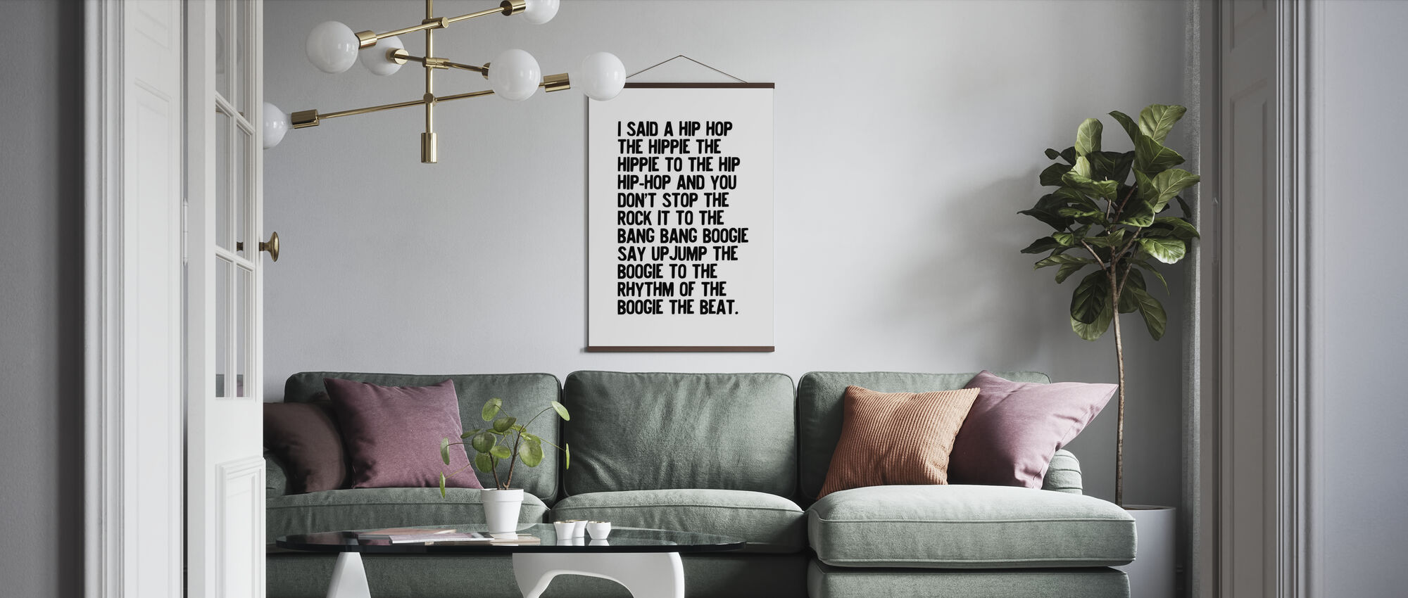Rappers Delight - Poster - Living Room