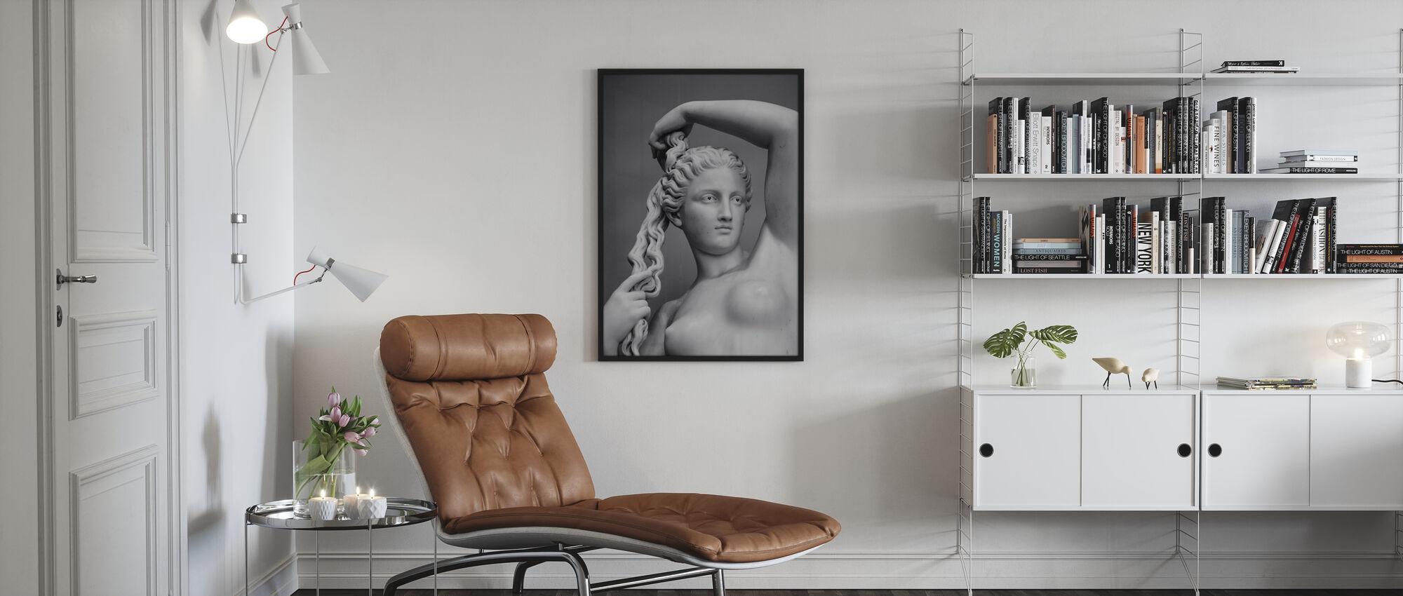 Liefde Godin - Ingelijste print - Woonkamer