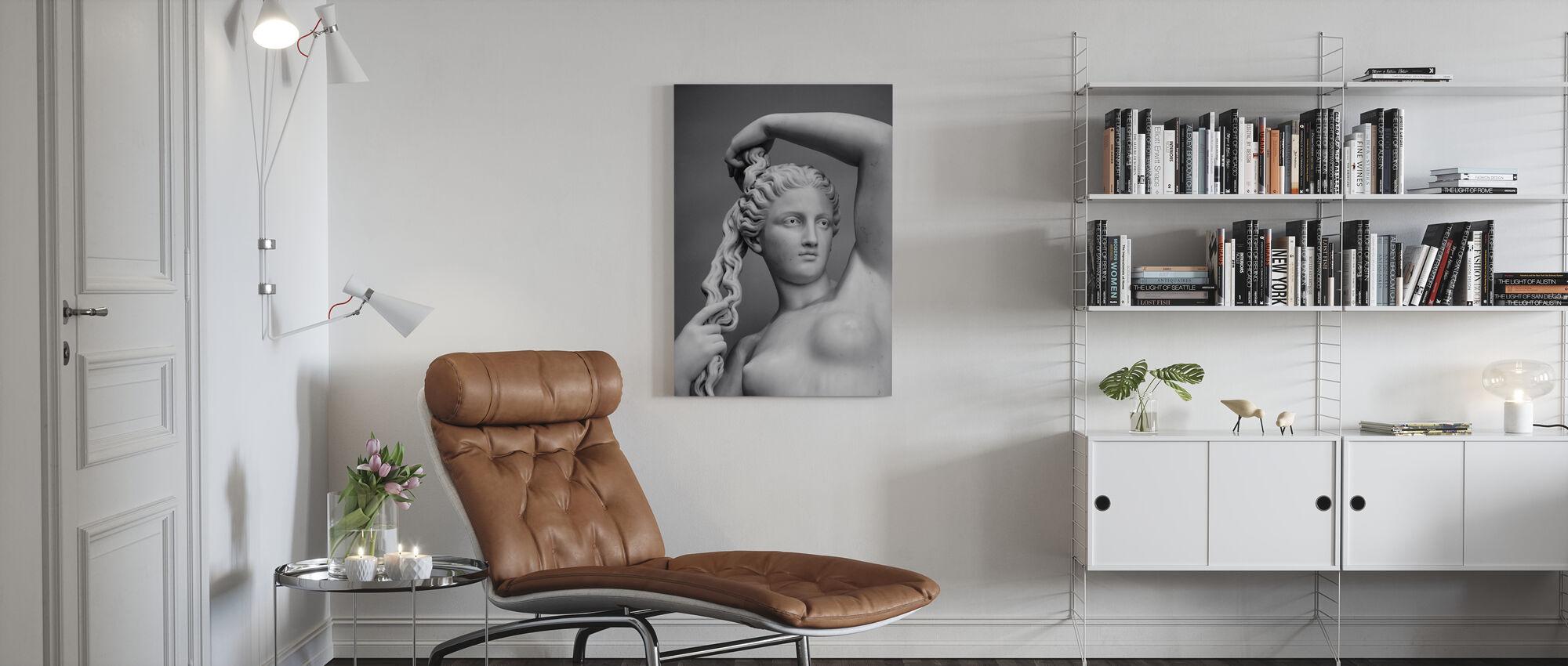 Love Goddess - Canvas print - Living Room