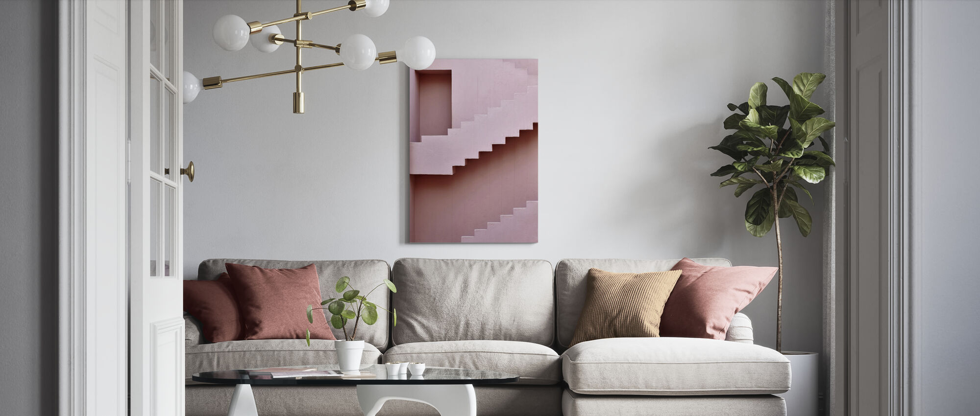 Next Level - Canvas print - Living Room
