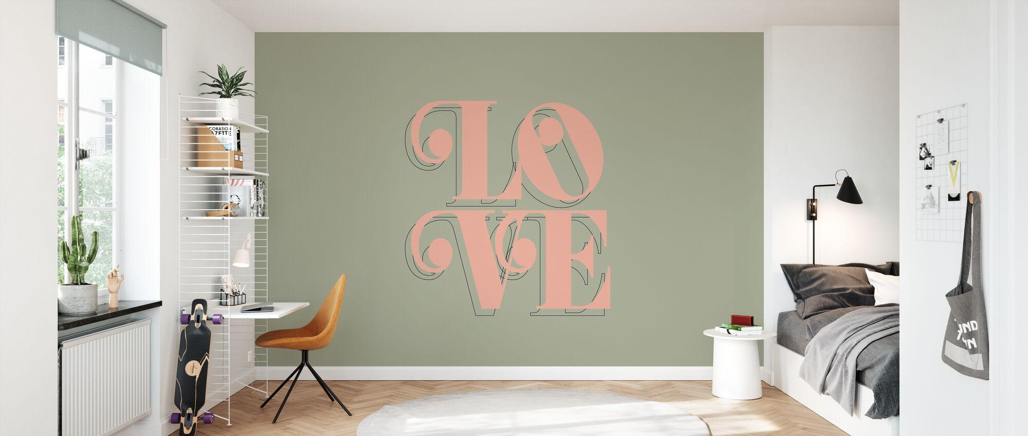 Love Kale - Wallpaper - Kids Room