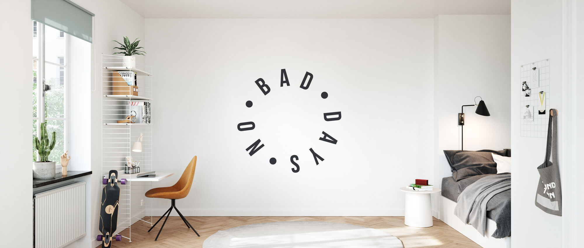 No Bad Days - Wallpaper - Kids Room