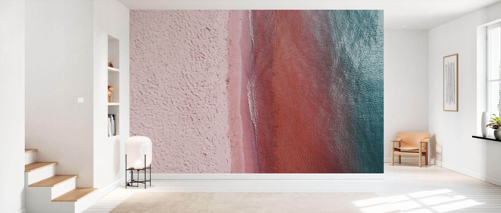 Pink Earth - Wallpaper - Hallway