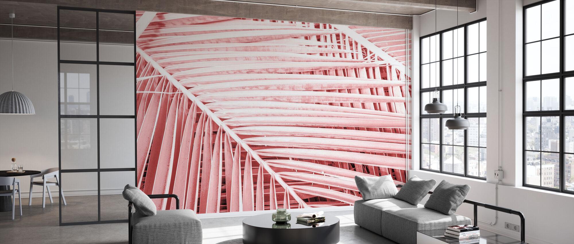 Roze Tropen - Behang - Kantoor