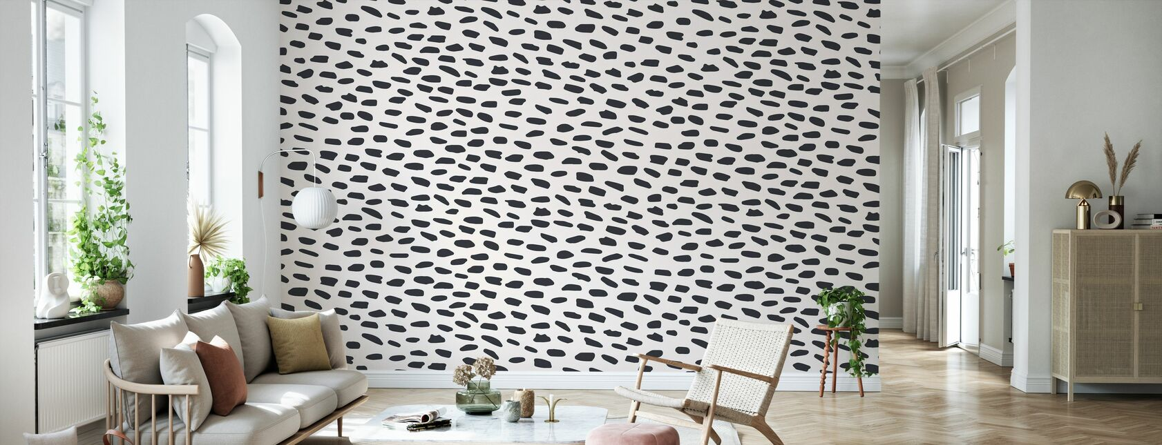 Salty Leopard - Wallpaper - Living Room