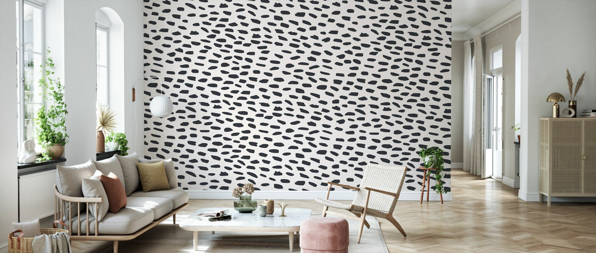Salty Leopard - Wallpaper - Living Room