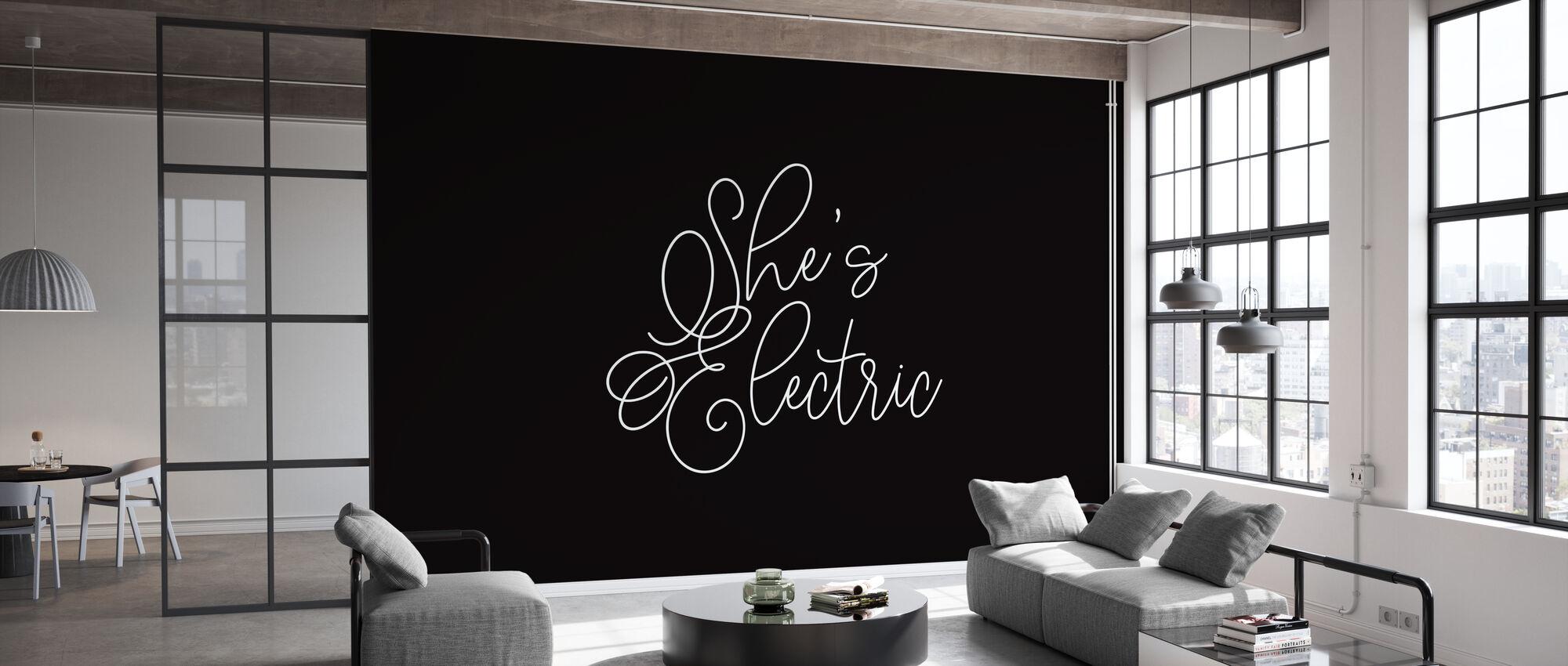 Shes Electric - Behang - Kantoor