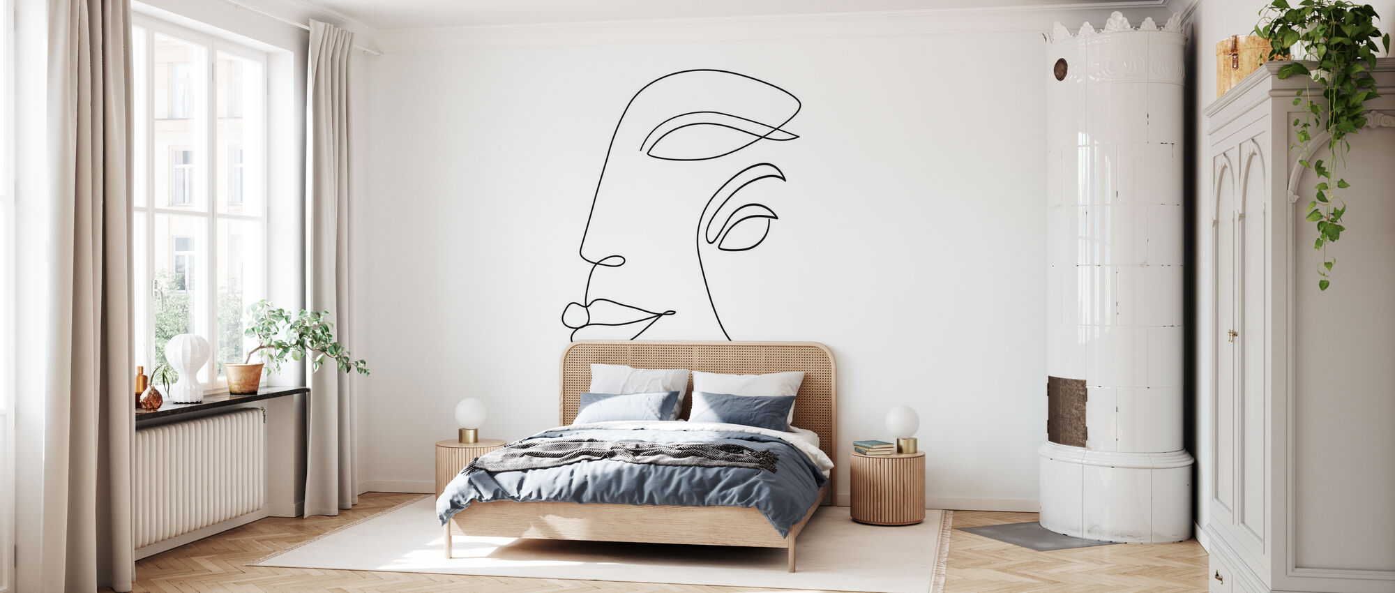 Two Faced - Wallpaper - Bedroom