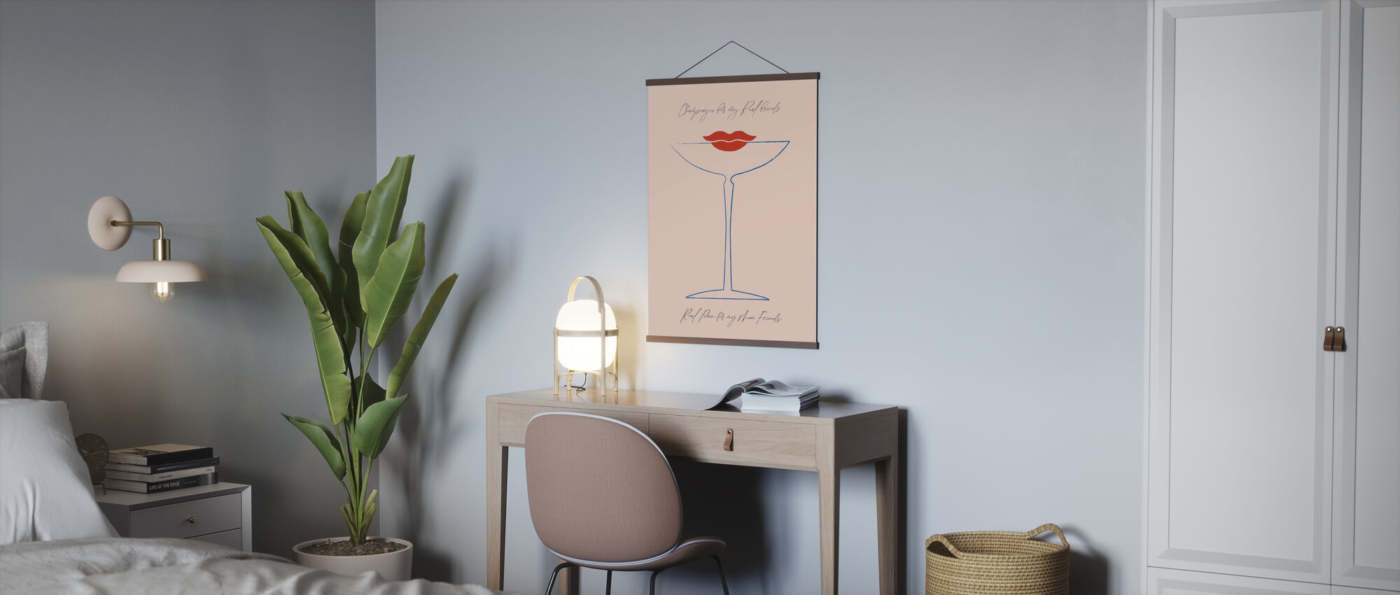Champagne - Poster - Office