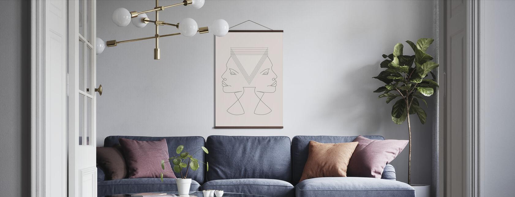 Gemini - Poster - Wohnzimmer