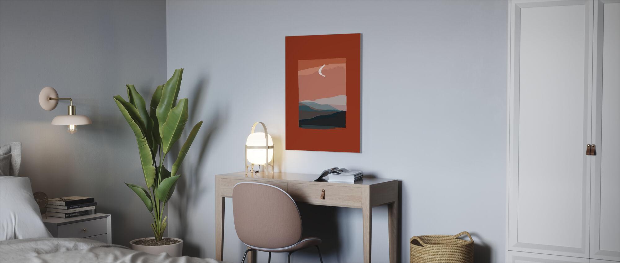 Moon Lake - Canvas print - Office