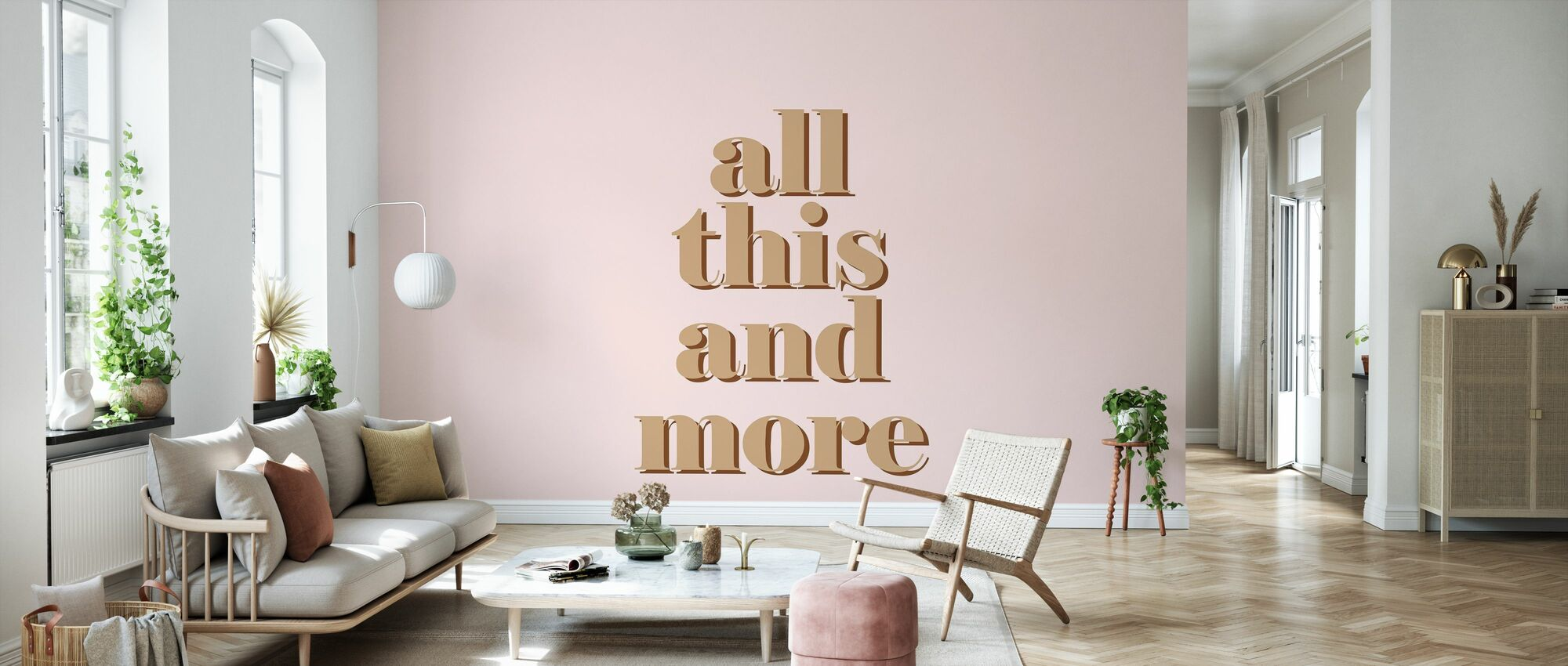 All this and More - Wallpaper - Living Room