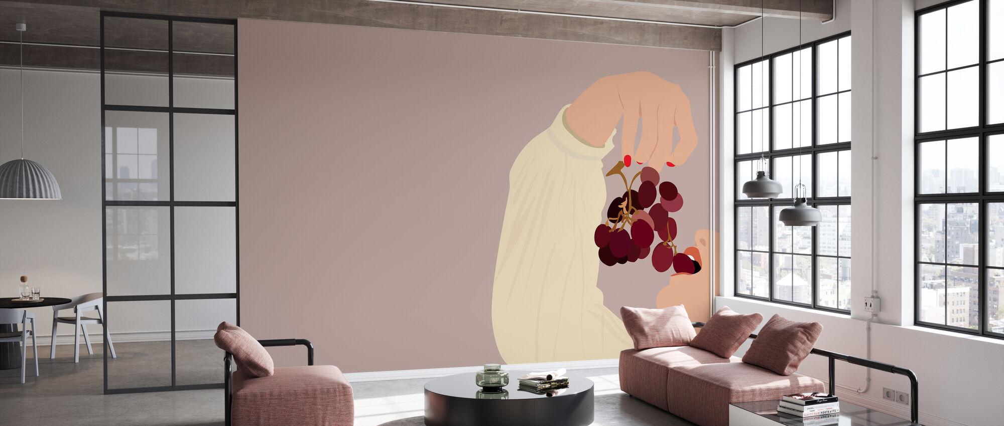 Druiven - Behang - Kantoor