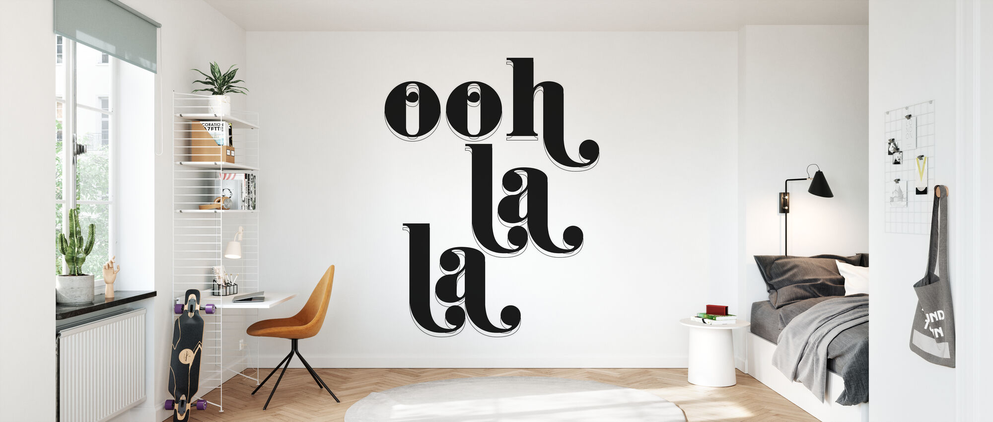 Ooh La La - Wallpaper - Kids Room