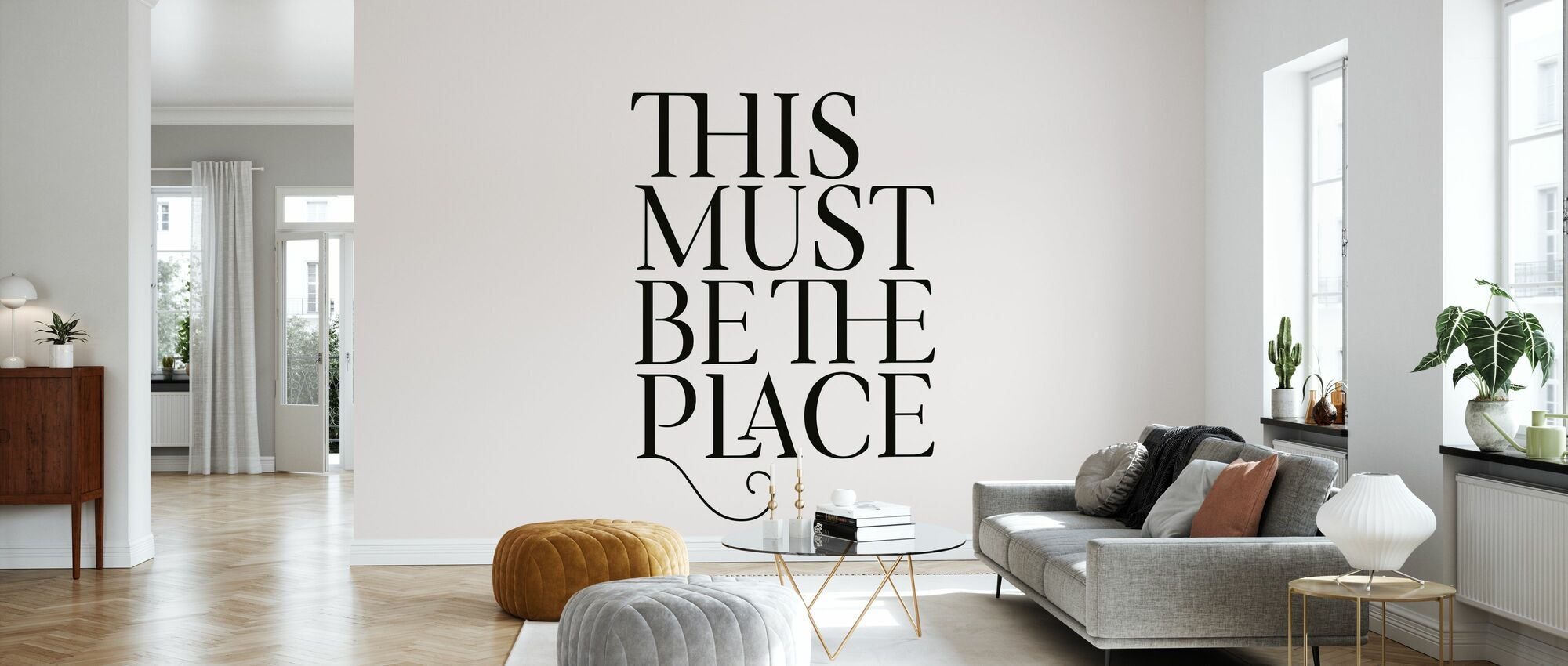 This Must Be the Place - Wallpaper - Living Room