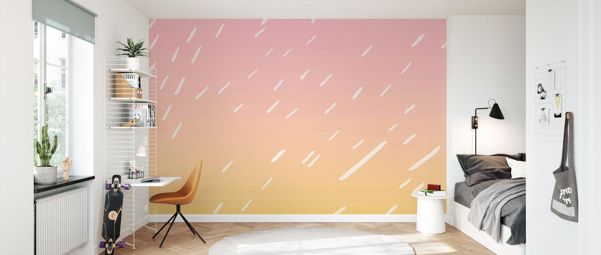 Kesän sade - Tapetti - Lastenhuone