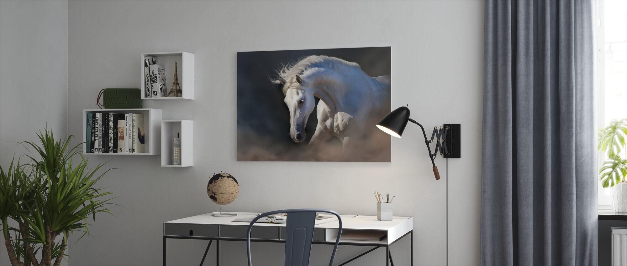 Horse Portrett - Lerretsbilde - Kontor