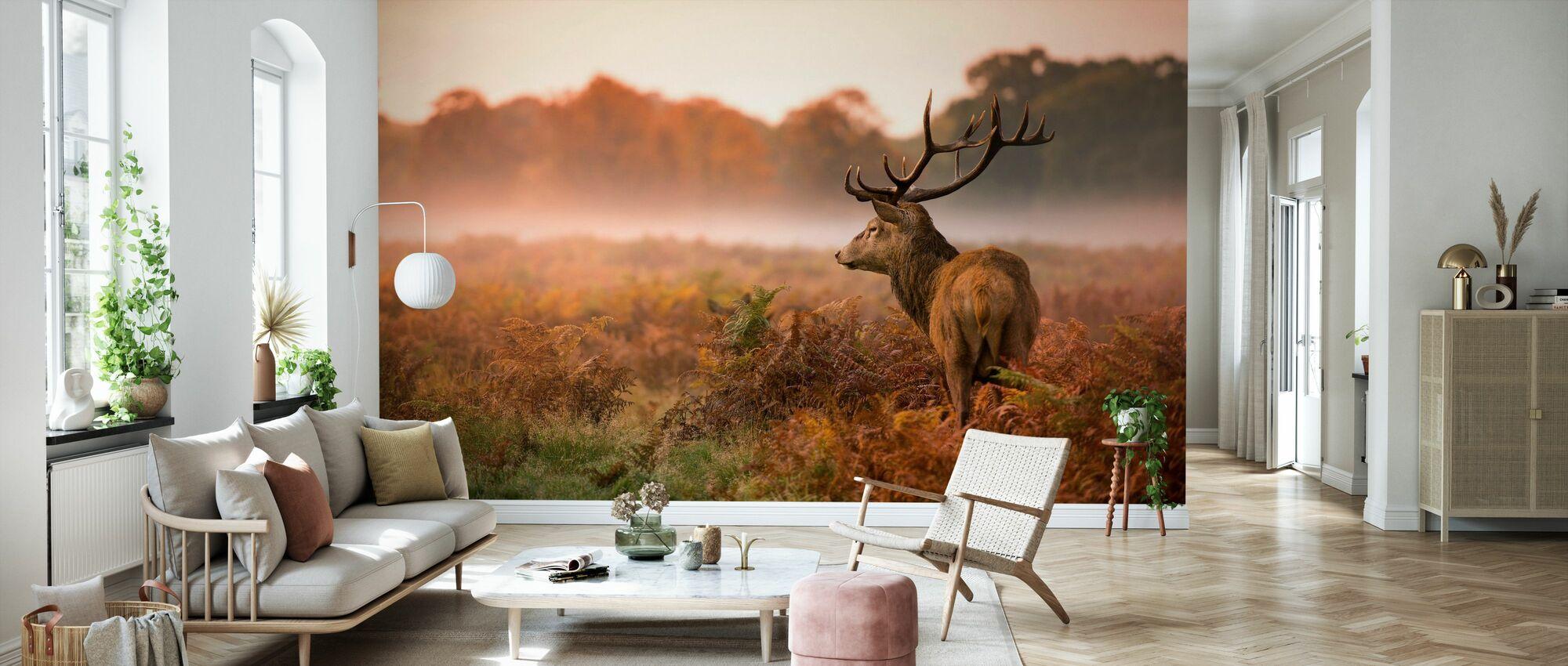 Hjort hjort hjort - Tapet - Stue