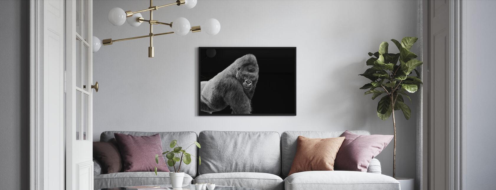 Adult Gorilla - Poster - Living Room