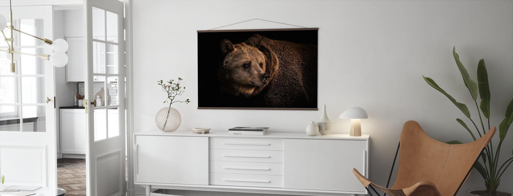 Brun Björn - Poster - Vardagsrum