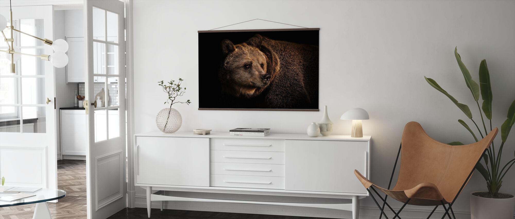 Brown Bear - Poster - Living Room