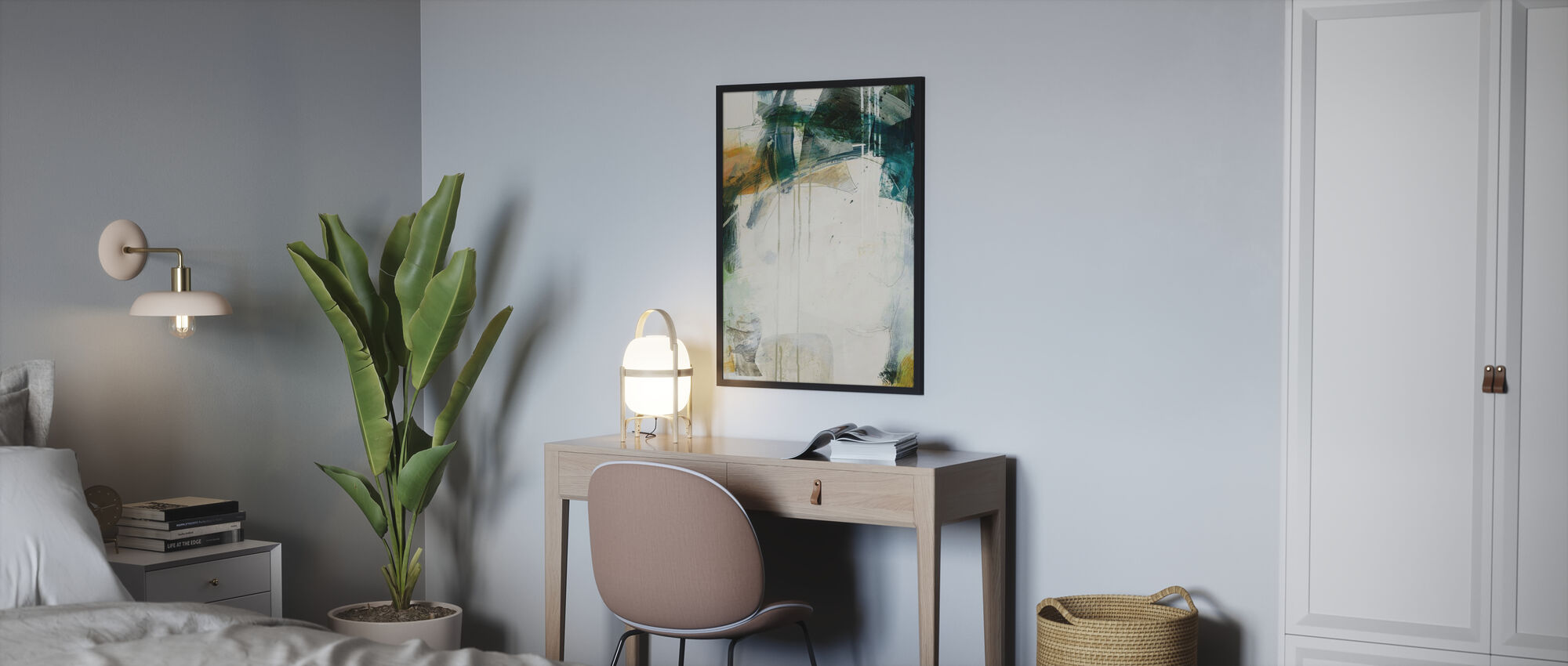 Turbulence I - Poster - Bedroom