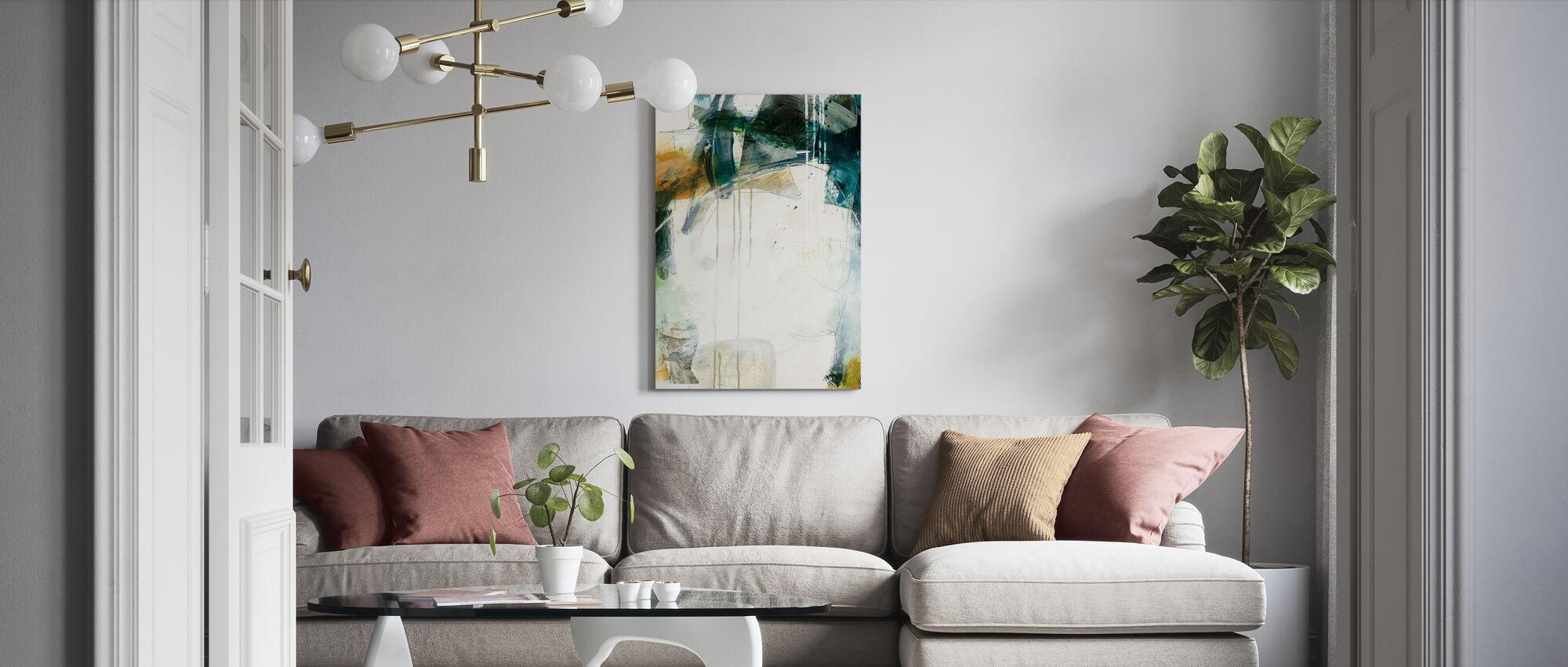 Turbulence I - Canvas print - Living Room