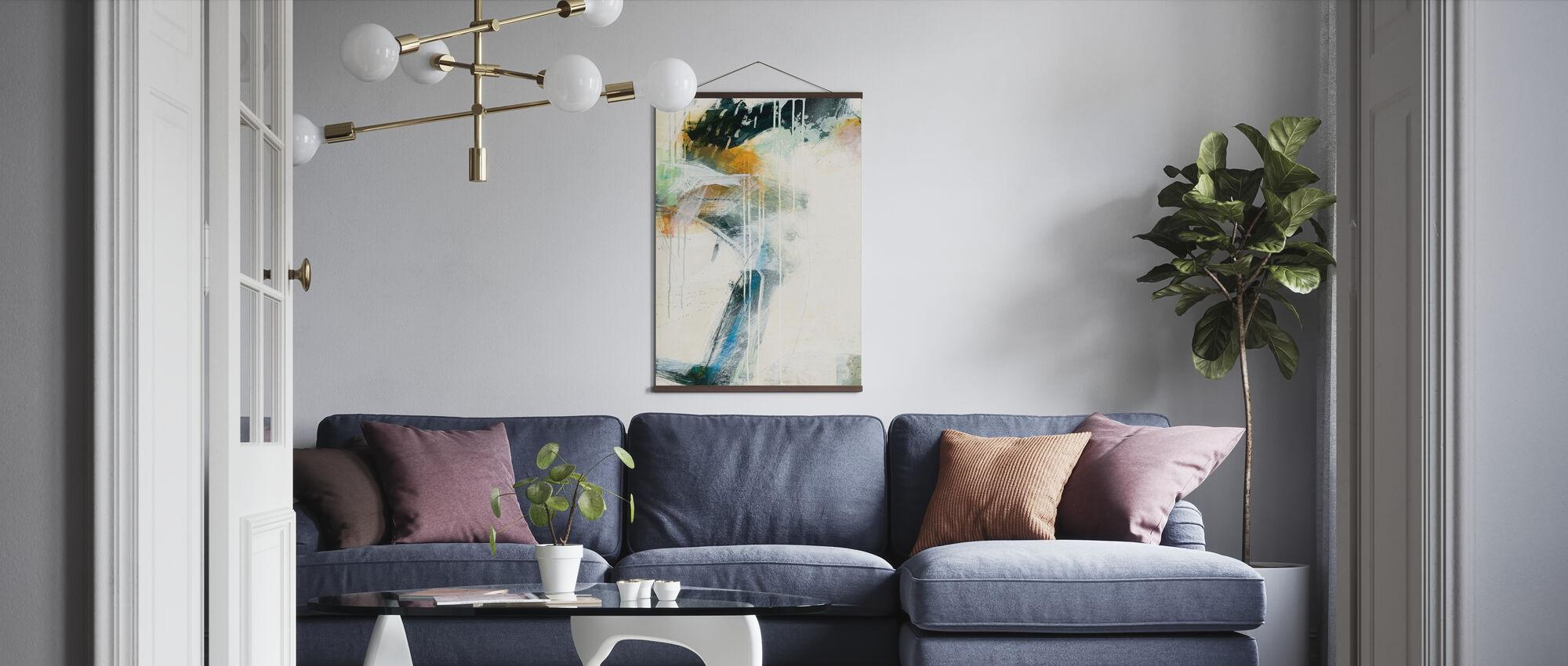 Turbulence II - Poster - Living Room