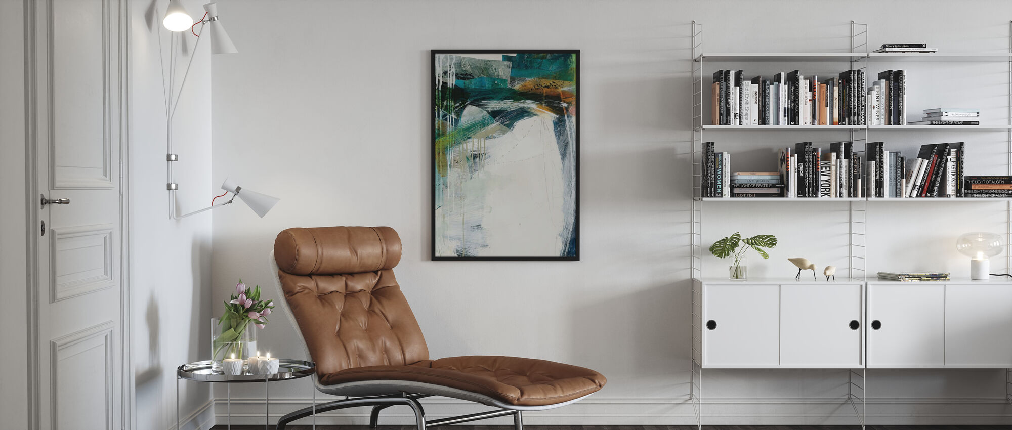 Turbulence iii - Poster - Living Room