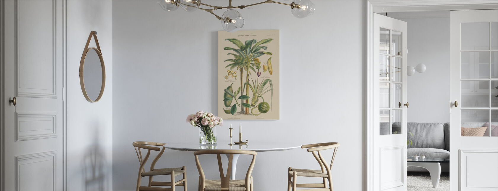 Fruitbomen - Canvas print - Keuken