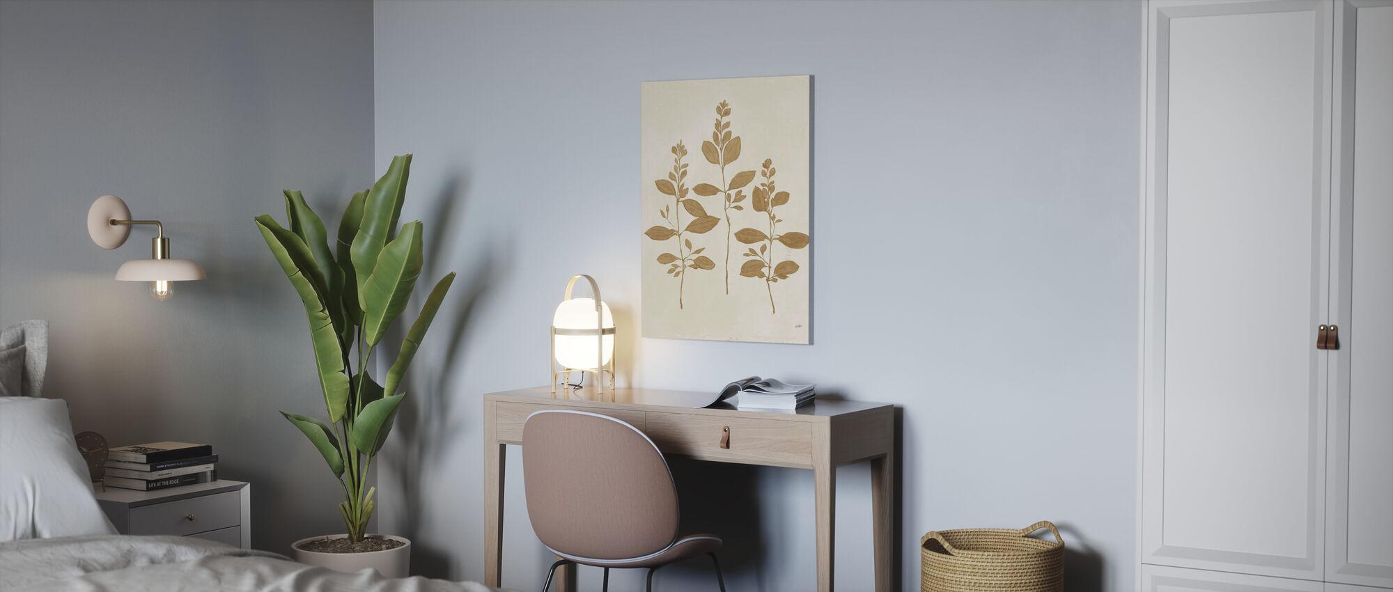 Botanical Study - Canvas print - Office