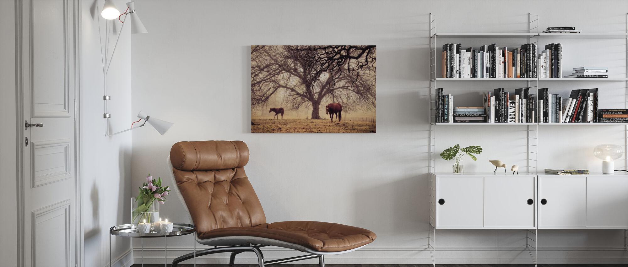 Ochtend Kalm - Canvas print - Woonkamer