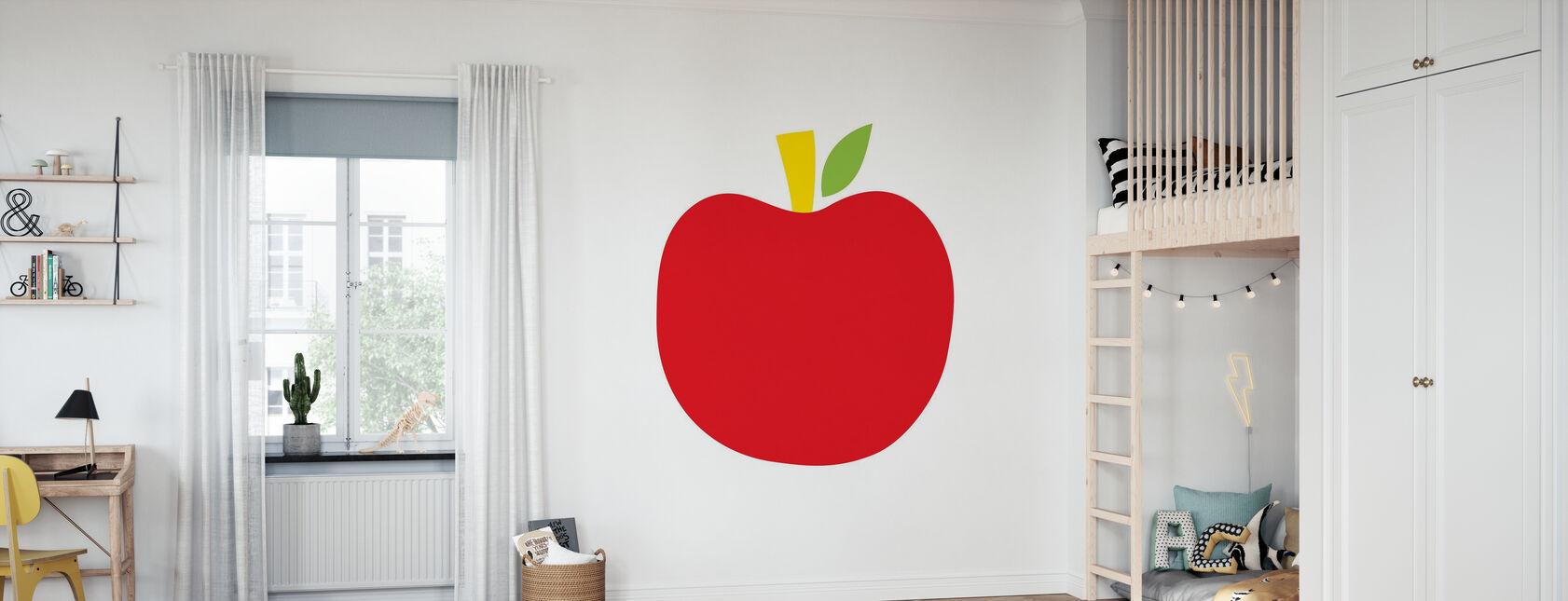 Red Apple - Wallpaper - Kids Room