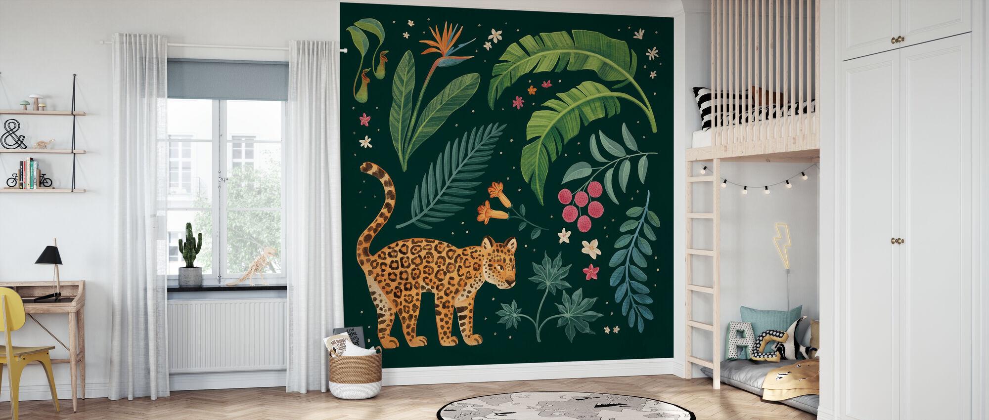 Jungle Love II - Wallpaper - Kids Room