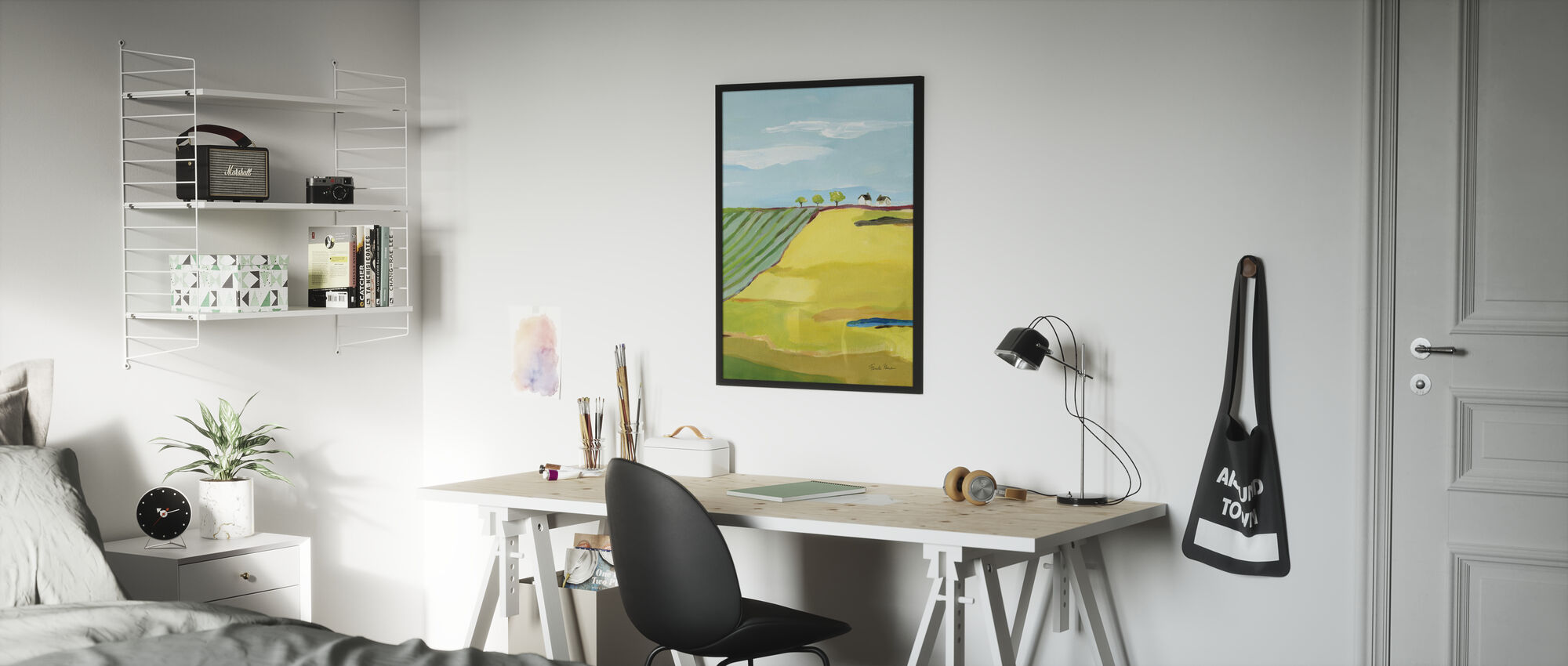 Golden Country - Poster - Kids Room