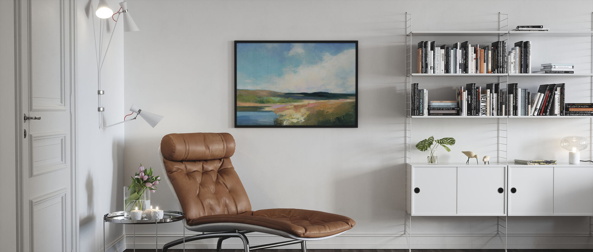 Dawn by the Water - Poster - Living Room