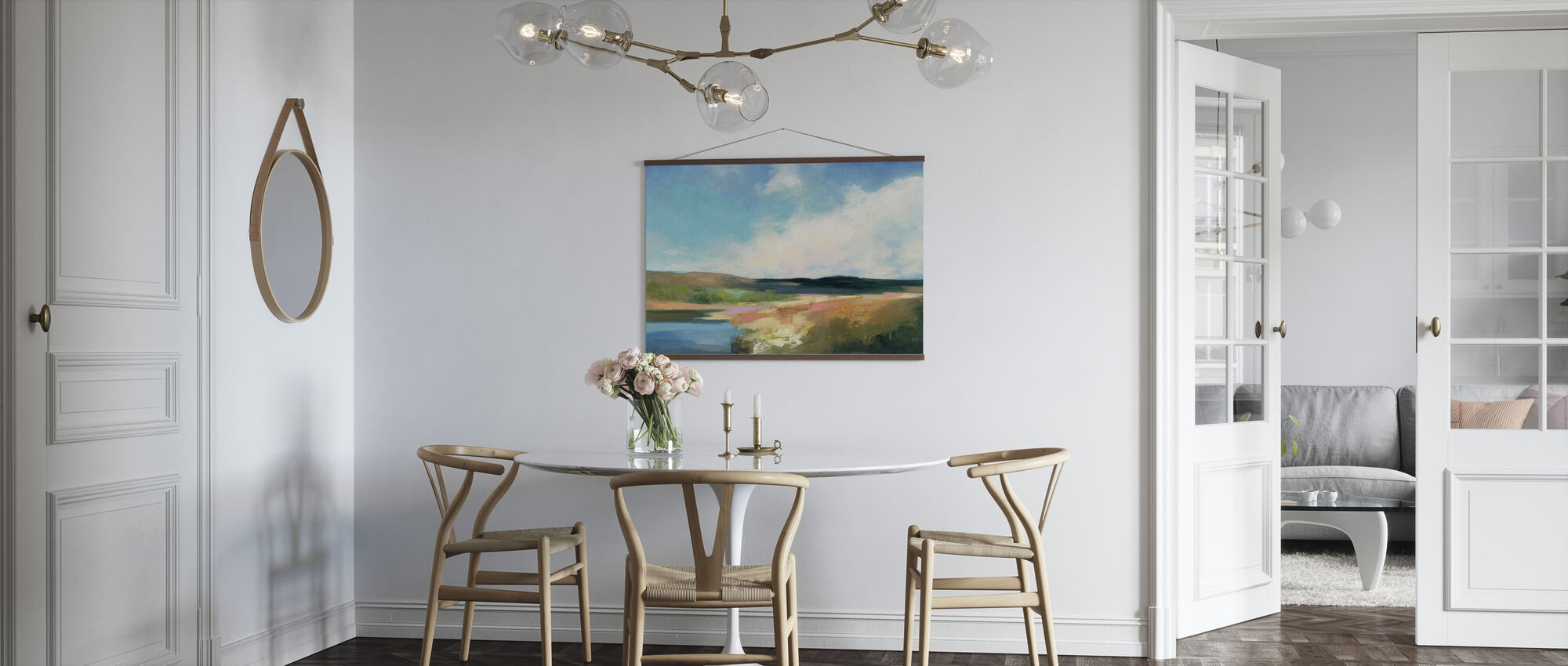 Dawn by the Water - Poster - Kitchen