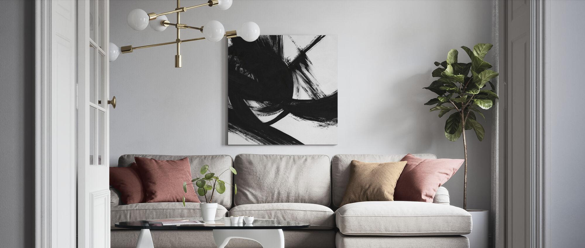 Densitet - Canvastavla - Vardagsrum