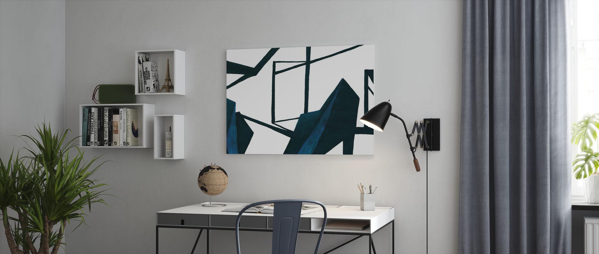 Tässä huoneessa - Canvastaulu - Toimisto